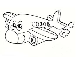 Coloriage Avion Marrant Imprimer