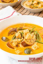 Bahan sayur lodeh mampu berasal dari aneka yang disesuaikan bersama selera. Sayur Lodeh Indonesian Vegetable Stew In Coconut Milk Recipe Daily Cooking Quest