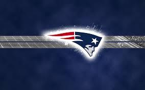 New England Patriots Football Logo Desktop Wallpaper