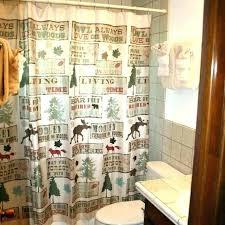 cabin shower curtain lake shower curtain lovely cabin shower curtains a resort cabin 3 view 6