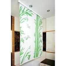 bamboo shower curtain friendly brilliant blind x rail