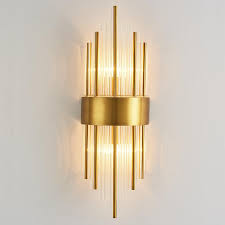 2019 modern wall lamp crystal wall light aisle corridor light wall sconce luxury bedroom bedside porch tv background light fixtures from albert ng668
