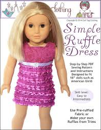 Easy 18 Inch Doll Clothes Patterns