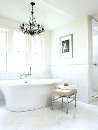 chandeliers over bathtubs chandelier tub code bathtub