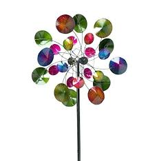metal yard wind spinners garden spinner kinetic decor outdoor sculpture how to make lawn
