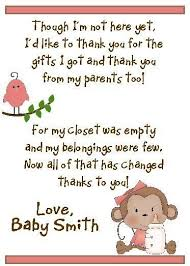Owl Baby Shower Thank You Cards