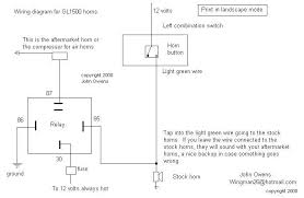 wiring diagram for air horn the wiring diagram air horn solenoid wiring diagram nilza wiring diagram