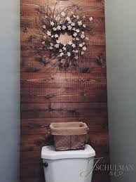 Accent Wall Bathroom Diy Pallet Or Wood Panel Bathroom Accent Wall Walls Of Interest