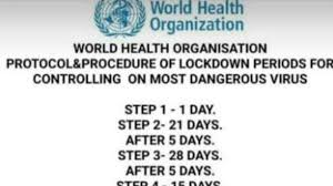 More information is on the transitioning out of lockdown page. Fact Check Viral Lockdown Phases To Control Covid 19 Have Not Been Endorsed By Who Fact Check News