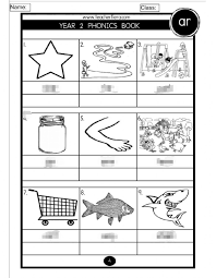 Sounds and phonics worksheets for preschool and kindergarten, including beginning sounds, consonants, vowels and rhyming. Phonics Year 2 Interactive Worksheet