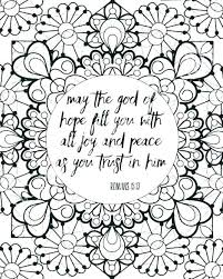 Bible Verse Coloring Pages Scripture Gospel Verses Free Printable