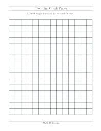 Printable 1 Inch Graph Paper Math 1 Inch Grid Paper Inch