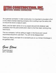 reference letters mcj cleaning mcj cleaning reference letters
