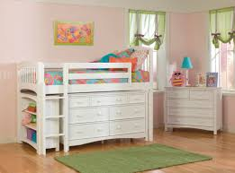 Loft Bed Small Bedrooms Bunk Bed Small Bedroom With Bunk Bed And White Stairs That Match
