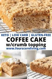 There are not a lot of foods that can fill a breakfast slot or a dessert slot, but coffee cake is one of those delightfully. Keto Coffee Cake