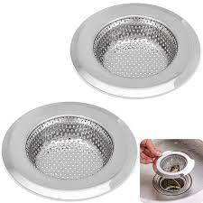 Kitchen Sink Strainer 45 Inch Dia 2pcs Sink Strainers