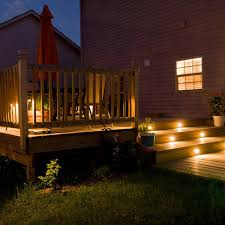 deck accent lighting. Outdoor Deck Lighting Accent