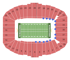 Seating Chart For War Memorial Stadium In Little Rock War Memorial Stadium Ar Seating Charts For All 2019 Events