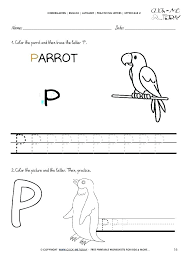 Cursive P Letter Worksheets For Handwriting Practice Worksheet D ...