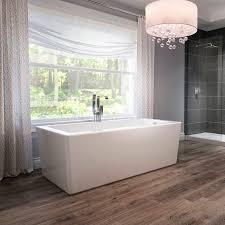freestanding bathtub acrylic hydromassage bianca