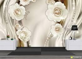 Wall Murals Digital Wallpaper - Flowers ...