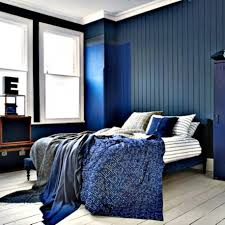 Beautiful Black And Blue Bedroom Hd9f17