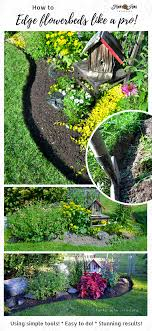 how to edge flowerbeds like a pro all you need are a few simple tools