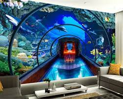 Custom 3d wallpaper underwater world ...