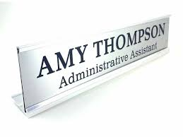 Office Name Plate Template Template Name Plates Template