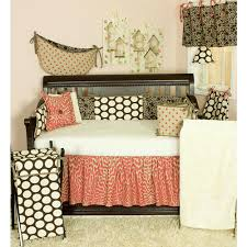 Cotton Tale Designs Cotton Tale Designs 16 In L Floral Raspberry Dot Straight Cotton Valance In Brown