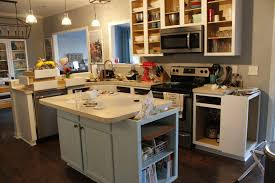 Kitchen Island Open Shelves Turning A Cabinet Into An Open Bookshelf O Charleston Crafted