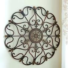 faux wrought iron outdoor wall decor window decals fence panels faux wrought iron