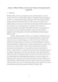 offender profiling uk university of birmingham thesis 16 2 chapter 1 offender profiling