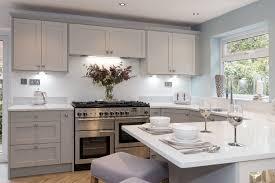 Dark Gray Kitchen Design