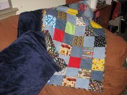 Easy Peasy Pillowcase Tutorial   Sew Good Sew Far\'s Weblog & Finished pillowcase plus a quilt I made to match (free pattern below) Adamdwight.com