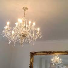chandelier installed by scooch electrical