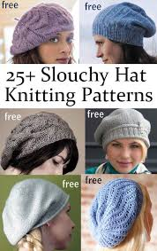 Free Slouch Hat Knitting Patterns Magnificent Slouchy Hat Knitting Patterns In The Loop Knitting