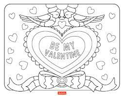 Printable colored teddy bear valentine's day favorbox. 15 Valentine S Day Coloring Pages For Kids Shutterfly