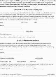 Credit Card Release Form Credit Card Form Template Example Credit Application For Business