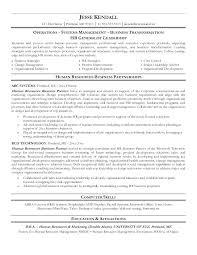 Hr Generalist Resume Sample Human Resource Resume Human Resources