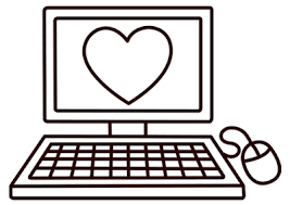 There are two icons above the free computer coloring page. Computer Coloring Pages For Kids Printable Free Category Electronic Devices Computer Coloring Pag Coloring Pages For Kids Printables Kids Coloring Pages
