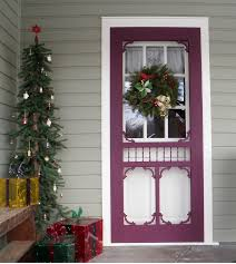 I would love to have a screen door like this someday. However ...