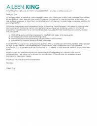 District Sales Manager Cover Letter Leading Professional Store Manager Cover Letter Examples