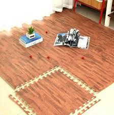 wood foam set foam baby play mat wood grain interlocking exercise gym floor waterproof rug crawling wood foam
