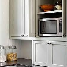 Appliance Garages Kitchen Cabinets Kitchen Cabinet Appliance Garage Stainless Steel Faucet Blue