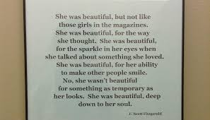 She Was Beautiful Quote F Scott Fitzgerald Book Best Of Mirror Mirror On The Wall Who Posted The Quote The Announcer