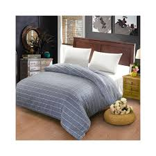 100 cotton duvet cover twin full queen size gray striped grid cartoon red plaid gray quilt case red duvet covers super kingsize color style9 size 100x130cm