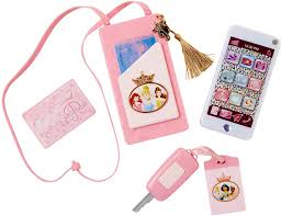 Disney Princess Style Collection Light Up Play Watch Disney Princess Style Collection On The Go Play Smartphone With Led Lights Sounds Cross Body Strap For Girls Ages 3