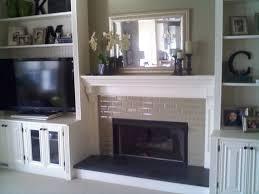 Brick Fireplace Mantel Rustic Brick Fireplace Mantel All Home Decorations