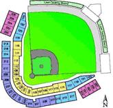 Cubs Park Mesa Az Seating Chart Spring Training Ballpark Hohokam Park Chicago Cubs